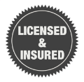licensed and insured