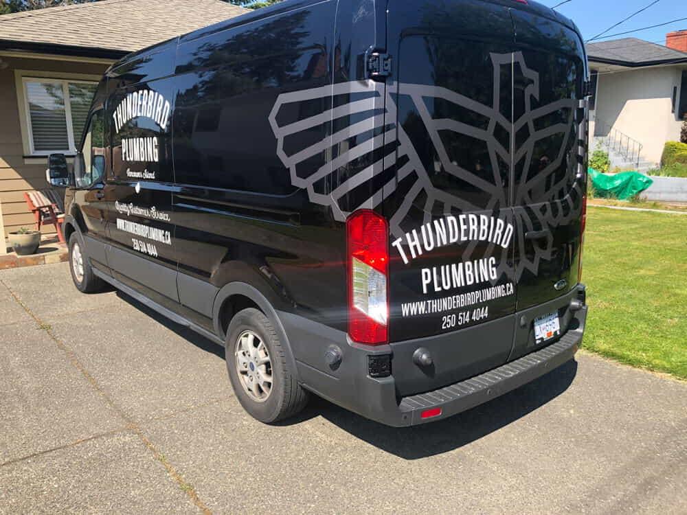 Thunderbird Plumbing Van
